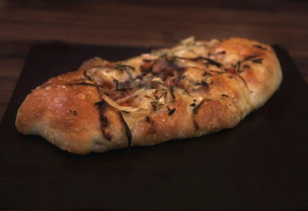 Onion and Tomato Focaccia | Olivier's Bakery